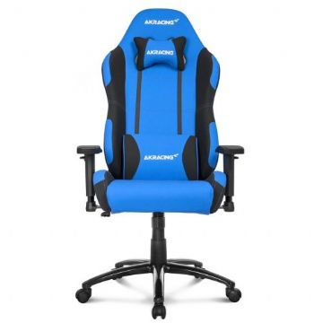 AKRacing Core Series EX Gaming Chair, Blue & Black